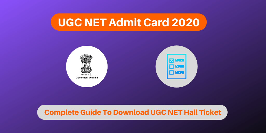 ugc net admit card 2019  download call letter now