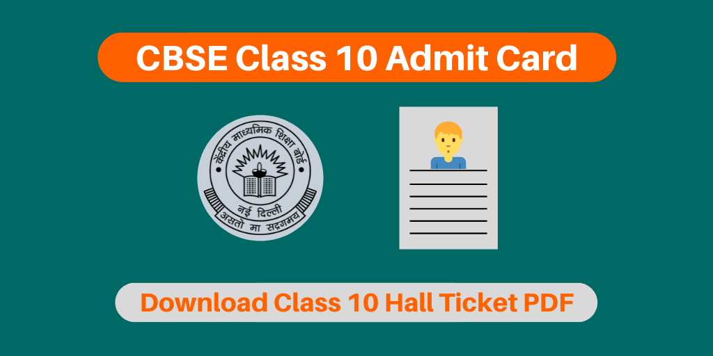 cbse class 10 admit card 2019 20  for private  regular