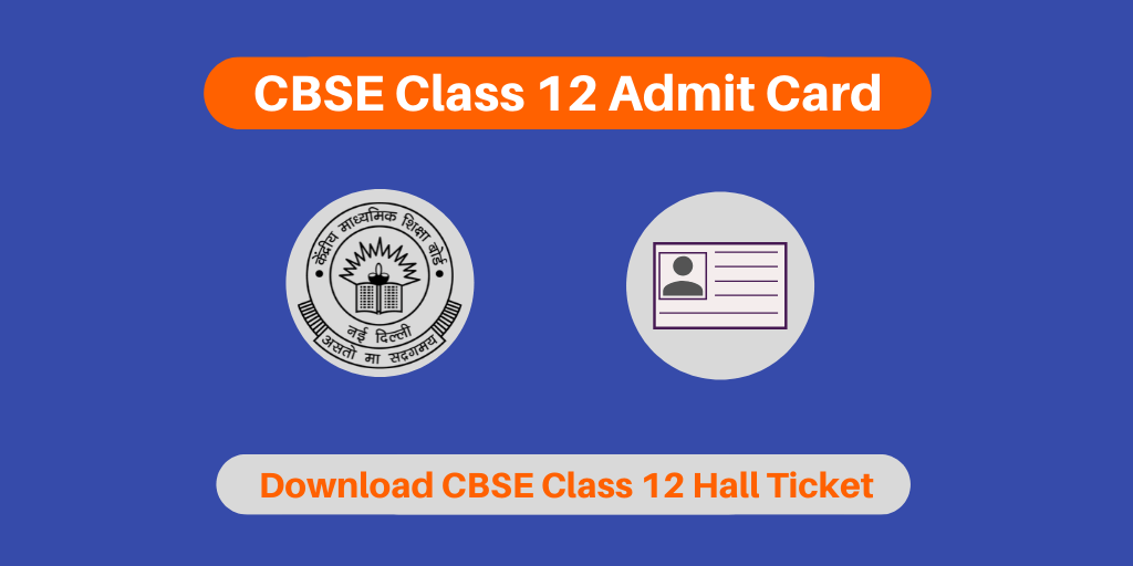 cbse class 12 admit card 20192020  for private  regular