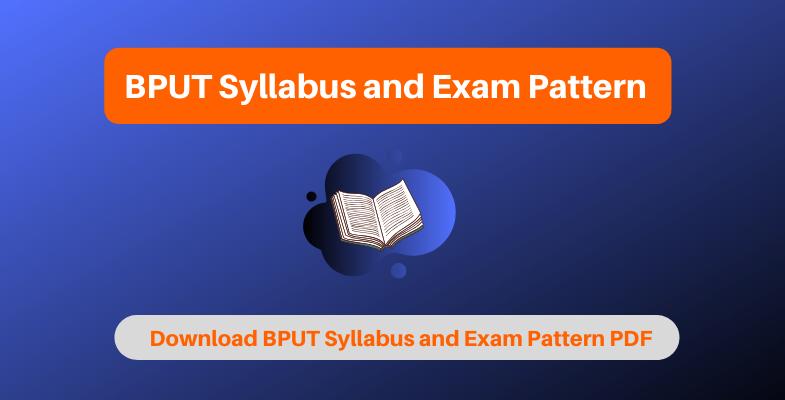 bput syllabus and exam pattern 2020  download latest