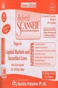 Solved Scanner CSEP Module-II Capital Markets and Securities Laws Paper 6 Dec 2014